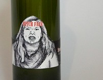 Self Reflective Wine Lable
