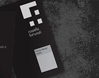 Brand identity for architect