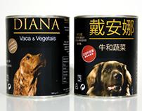 Rótulos de Comida para Cão