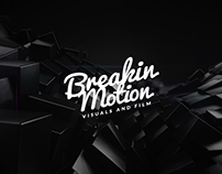 Breakin Motion - Showreel 2014