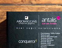 Antalis Paper Catalog Design
