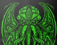 Badeco T-shirts - Cthulhu