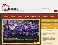 Families for Excellent Schools Website
