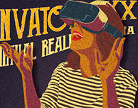Virtual Reality Cinema Flyer