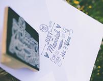 Adriano Mazzocchetti Brochure, Postcards and Stamp