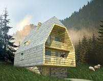 Mećavnik mountain house