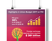 Union Budget 2017 | Infographic Design