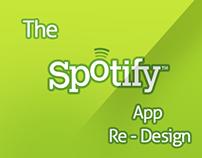 Spotify   Mobile Re - Design