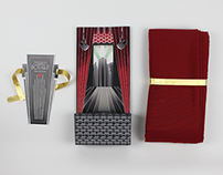 Dotlight Curtain Packaging