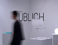 Üblich Chair: Furniture Fair Display