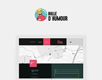 Web Design - Bulle d'Humour
