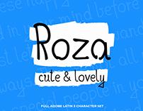 Roza // font