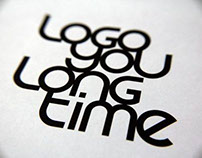 LogoYouLongTime a font for Logo Design