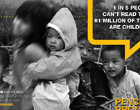 Pencils of Promise Ad Campaign