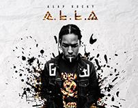 A$AP ROCKY - A.L.L.A ALBUM COVER