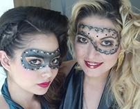 """""""Dark Masquerade"""" Models: Christina, Diana C, Diana R."""