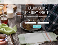 Healthy Delivery | UI Web & Application Design