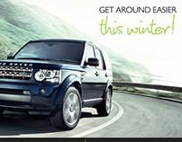Winter Branding Campaign for Stratstone