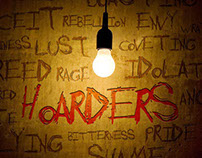 Hoarders // sermon series graphic