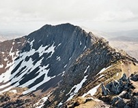 Mt Snowdon and Crib Goch