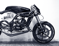 Klinge the cafe racer