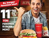 KFC_Fenomen Burger - DDB