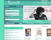 Rizzoli website UI/UX
