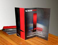 Flyer Design for Red Tape Media Group
