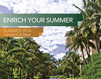 University of Miami - 2016 Summer Study brochure