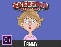 Adobe Character Animator Tammy Puppet