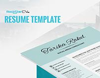 Resume Template Tarika