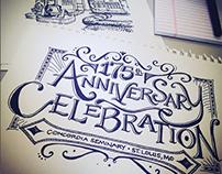 Concordia Seminary 175th Anniversary branding 2014