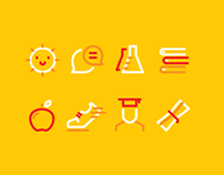 Icons for ECJ School