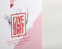 Give No Shit - Coffee Table Book
