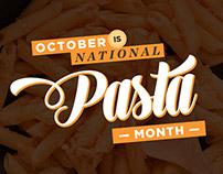 Pasta Month Banner