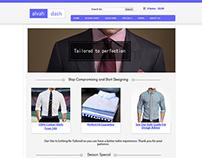 A Tailor-ed Website