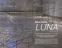 Magazine Spread: Alison Norlen: Luna