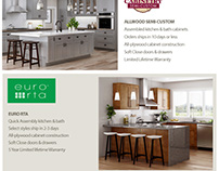 Ideal Cabinetry Homepage Design