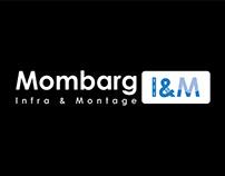 Logo, Mombarg Infra & Montage