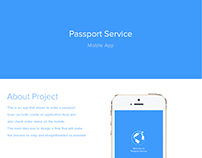 Passport Service Mobile App