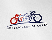Logo : Superbikers of Surat