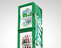Sprite Cooler Graphic, South America