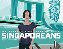 travel poster | Singapore