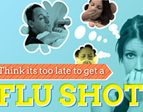 Flu Shot - DOOH Health Educational Content