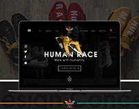 NMD_Human Race Web UI Concept Design