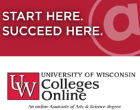 UW Colleges Online Flash Advertisement Banner