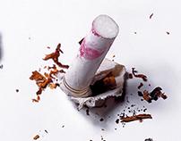 Lipsticks and cigarettes