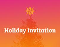 Healthcare Holiday Invitation