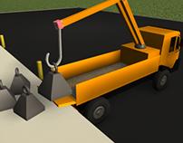 3D Animation - Forward Kinematic Machine