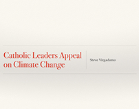 Catholic Leaders Appeal on Climate Change